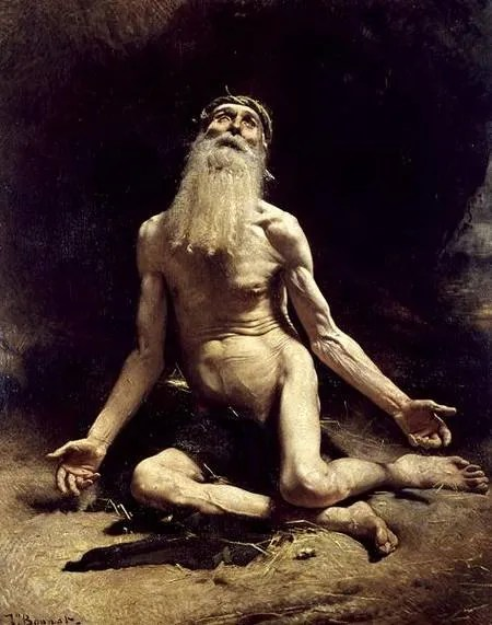 Job by Leon Joseph Florentin Bonnat, 1880,