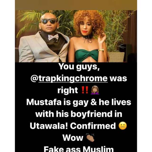 He is gay- Noti Flow embarrasses Colonel Mustapha in leaked text messages