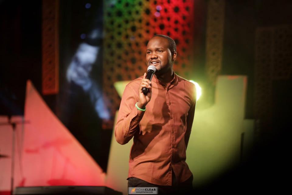 Comedian Paul Wakimani Ogutu