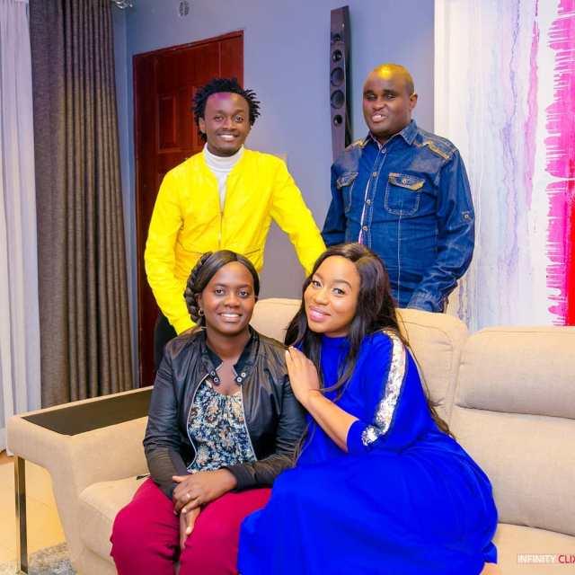Bahati gifts singer Denno brand new Car (Video)