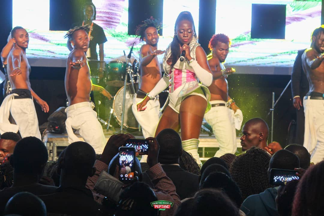 Akothee's manager Nelly Oaks explains why she fainted on stage, gives update on her health
