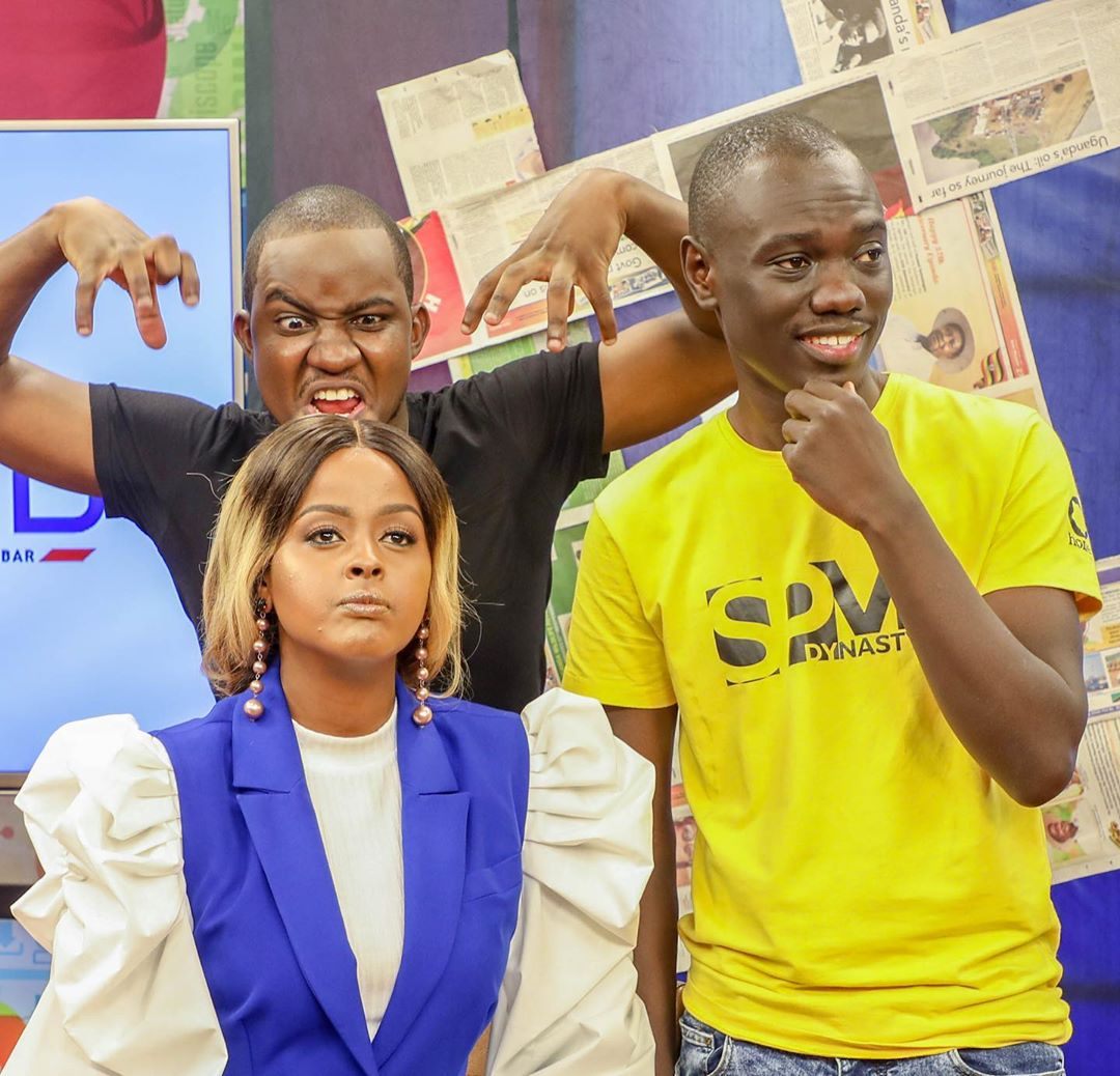 Butita, Amina on the Trend. Churchill show's Eddie Butita forced to respond after accusations of snubbing a fan in public