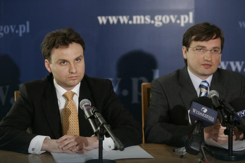 Zbigniew Ziobro konsekwentnie promował Dudę, ale przyjaźń skończyła się w 2011 r.