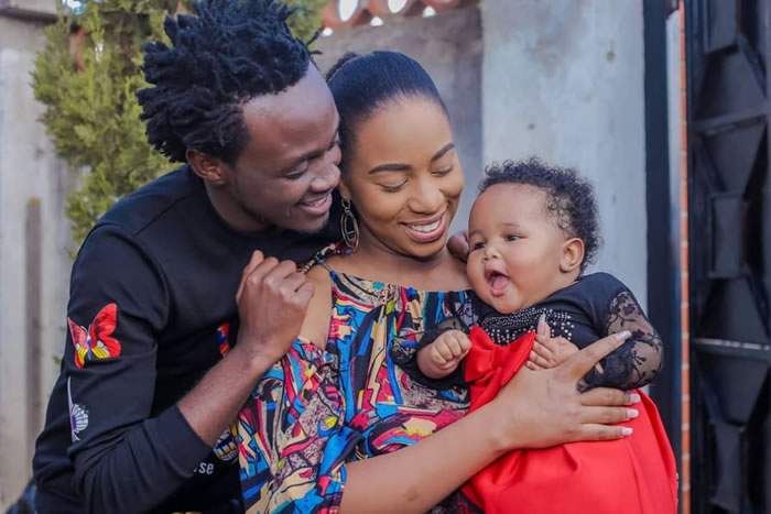Bahati. Kenyan celebrities whose kids have unique names