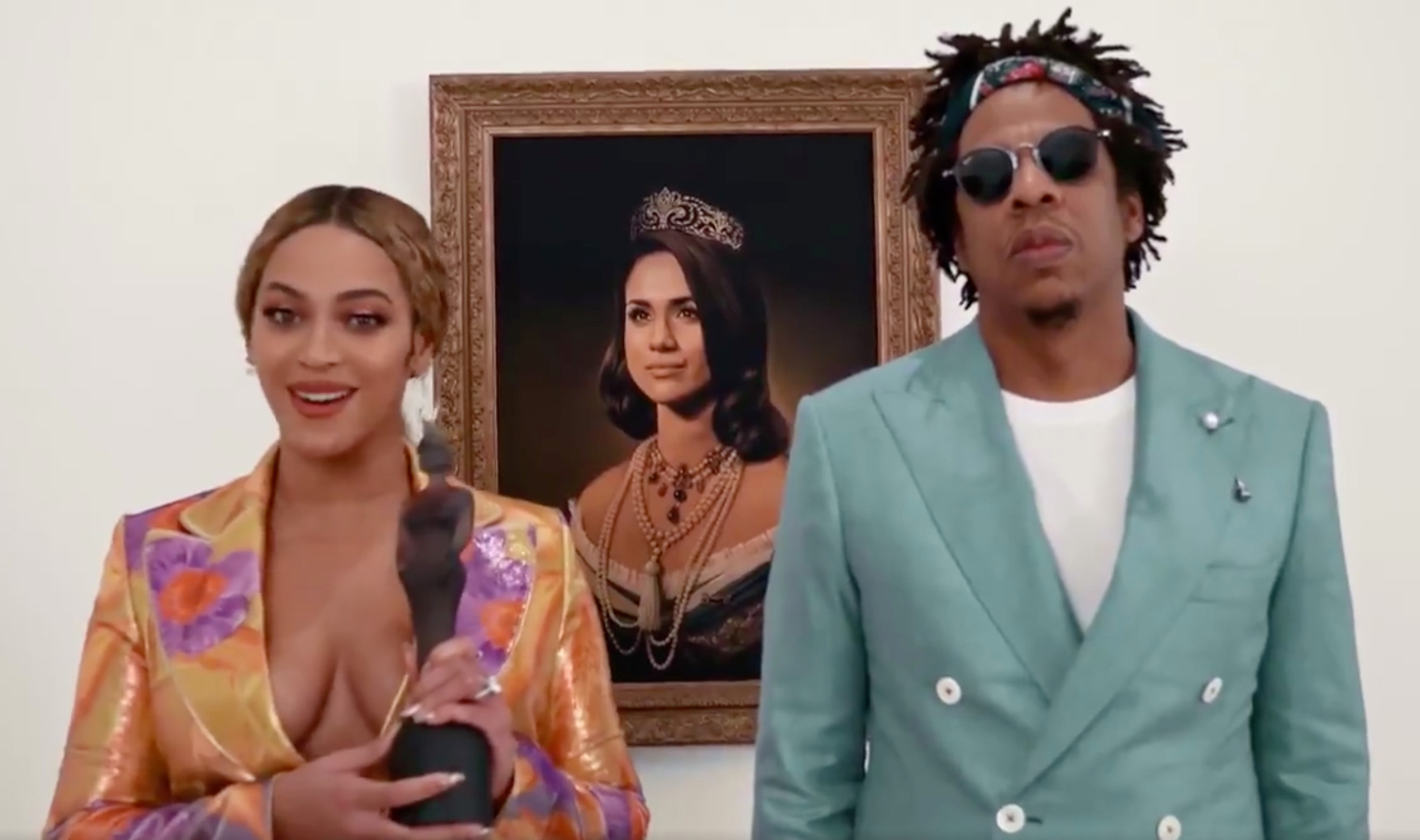 Jay Z and Beyonce receive BRIT Awards [RollingStone]