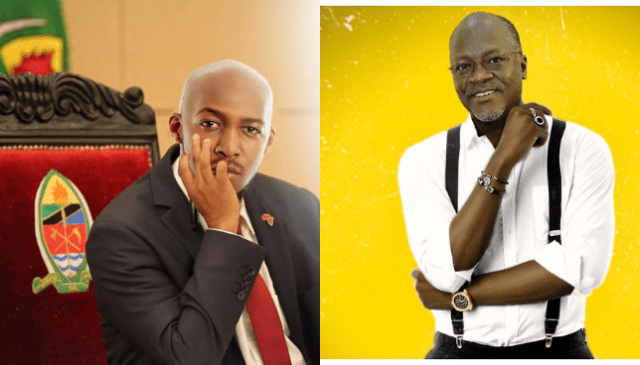 Photoshopped Images. Comedian Idris Sultan ordered to report to nearest Police Station after photoshopping President Pombe Magufuli