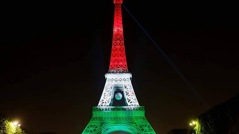 Legyen estére ilyen az Eiffel-torony / Fotó: Facebook