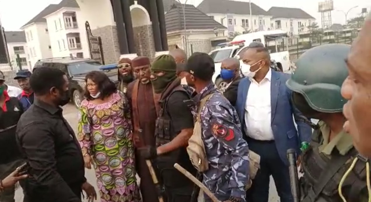 Image result for Former Governor, Rochas Okorocha Arrested In Imo State