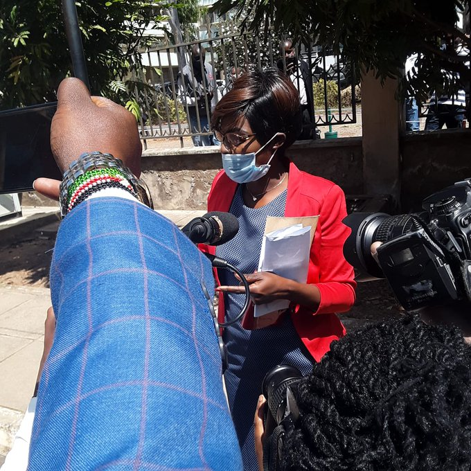 Mary Kwamboka claims Chief Justice David Maraga refuses to take care of a child they sired