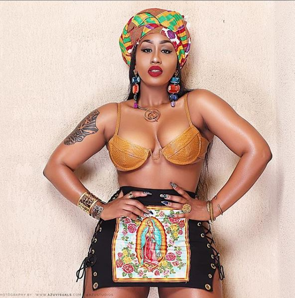 Victoria Kimani. 9 Kenyan celebrities followed by Diamond Platnumz on Instagram