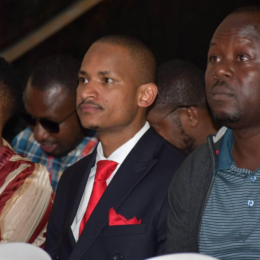 MP Babu Owino at the 2019 Pulse Music Video Awards (PMVA)