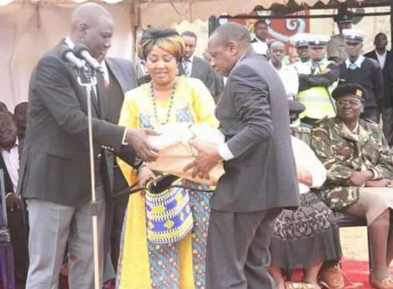 Image result for ruto in harambee