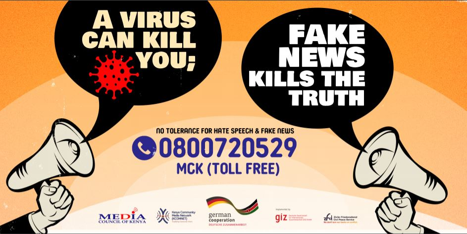 Media Council of Kenya launches Toll Free line for reporting Hate Speech