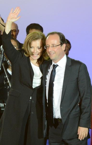 Valerie Trierweiler i Francois Hollande