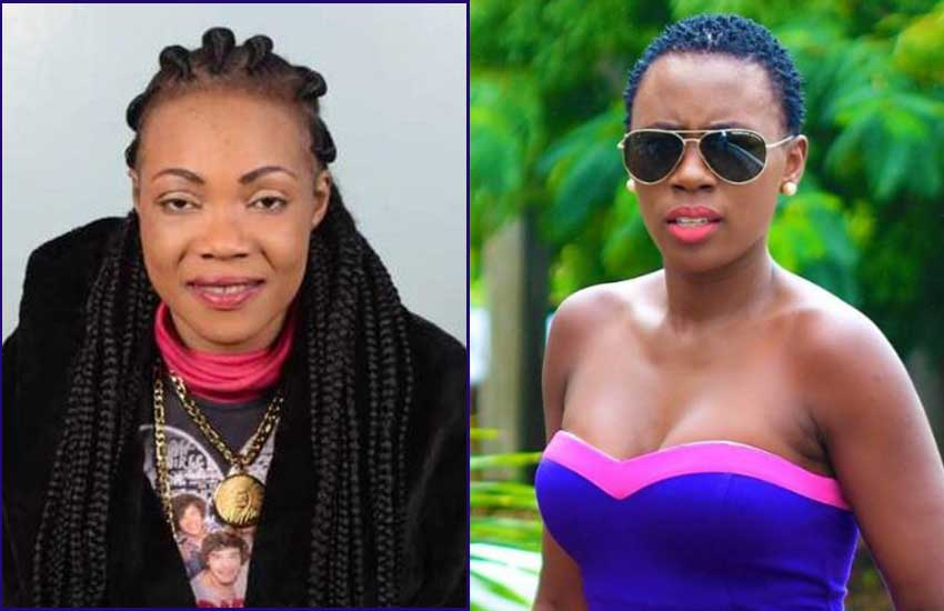 The Late  Lady Maureen's image pitted against Akothee