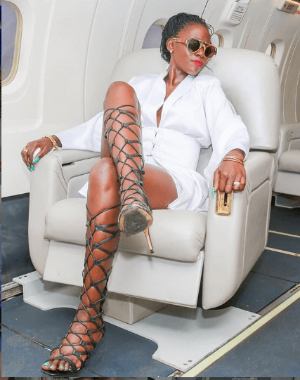 Akothee celebrates as her mother lands government job