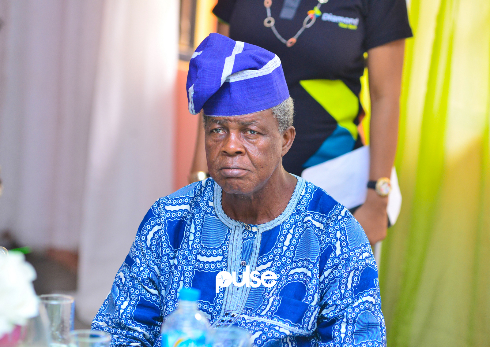 A senior citizen at Diamond Xtra savings promo season 11 Launch