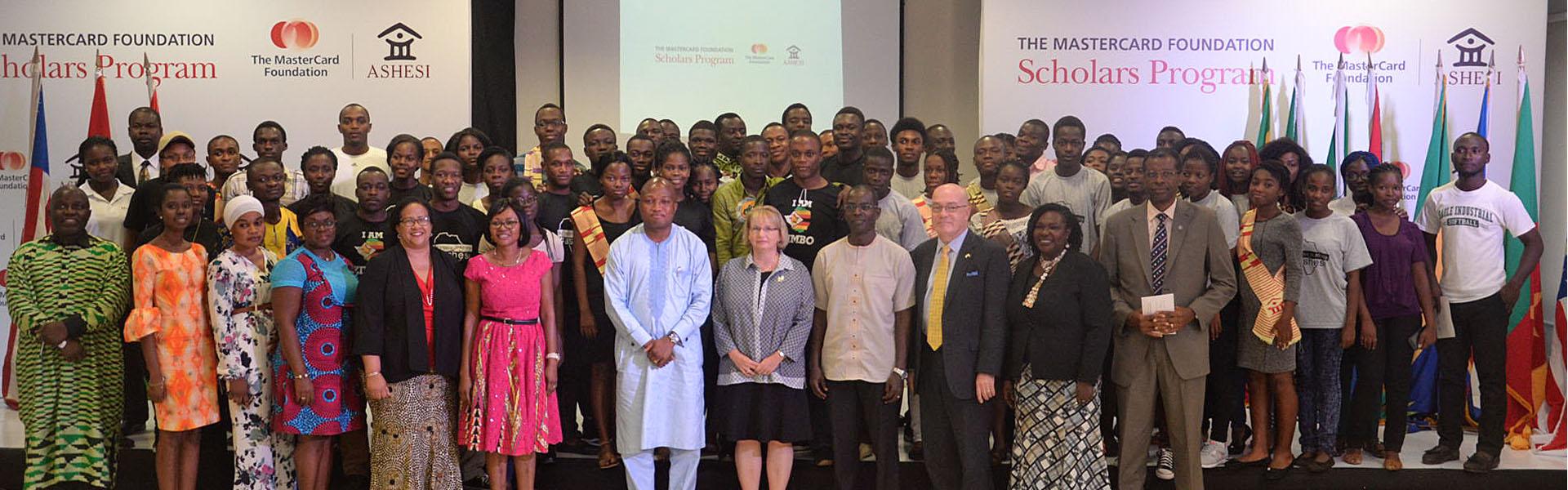 Ashesi University and The MasterCard Foundation.