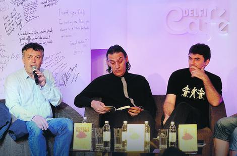 Nele Karajlić, Igor Marojević i Aleksandar Ilić