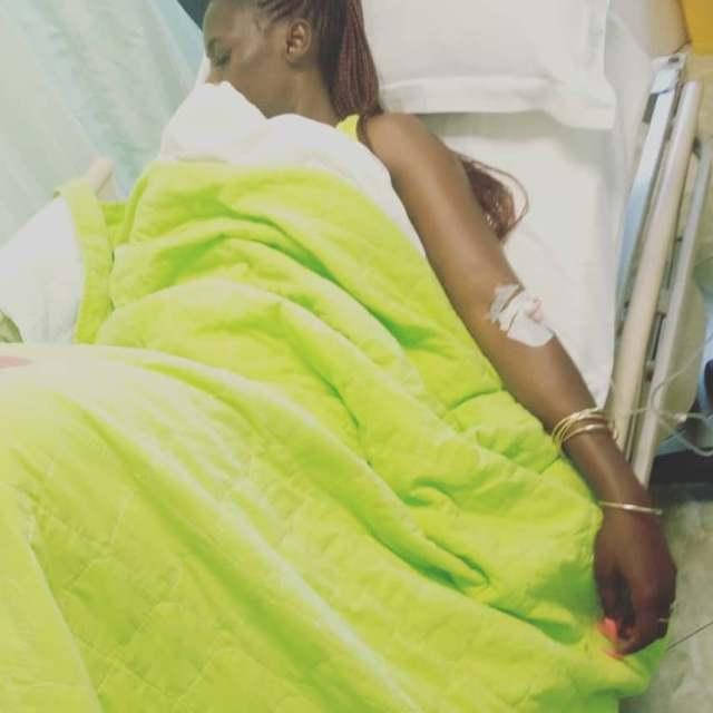 Akothee hospitalized days after returning to Kenya