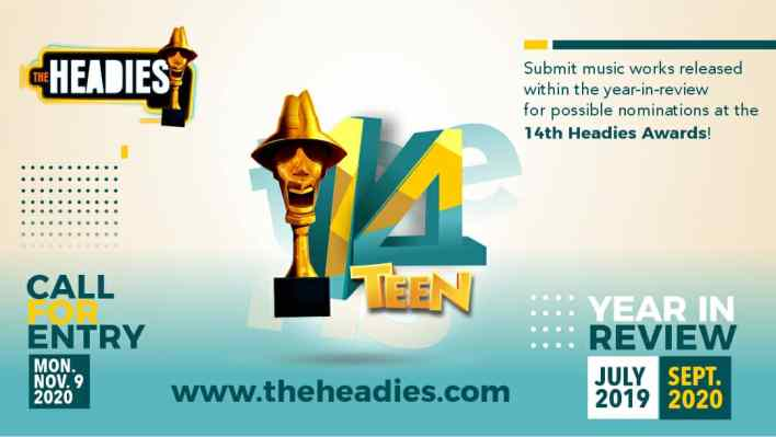 Headies 2020 is here, calls on artisss for submissions, [ARTICLE] - Pulse  Nigeria