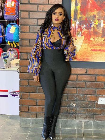 Avril Nyambura. 9 Kenyan celebrities followed by Diamond Platnumz on Instagram