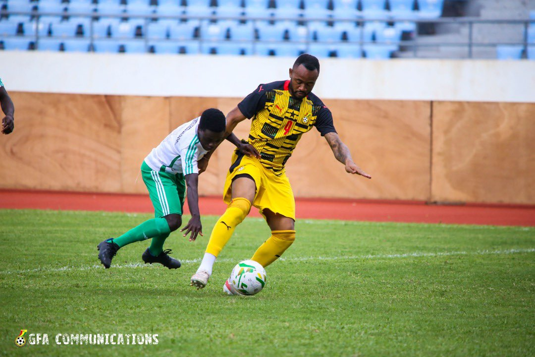Black Stars win 8-0 against Soccer Intellectuals in friendly
