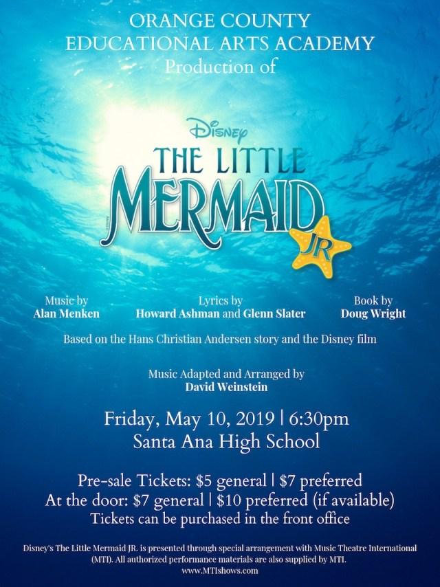 OCEAA production of The Little Mermaid -  OCEAA.org