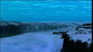 """Screen shot from an """"Ocean Flight"""""""