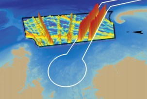 Stellwagen Banks Passive Acoustic Monitoring. Illus: NOAA/Cornell