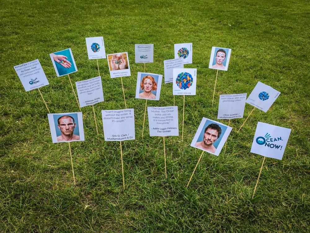 Ocean. Now! Mini Posters Action - Public park