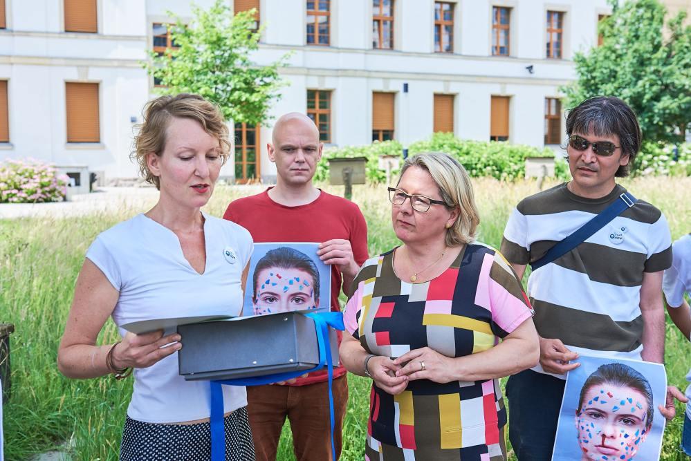 Ocean. Now! im Bundesministerium für Umwelt - Übergabe Petition an Svenja Schulze VIII
