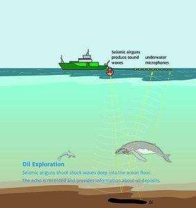 Oceancare Graphic Oil Exploration