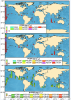 Figure 2: Concentrations of toxic pollutants per gram of dried phytoplankton at each sampling location. Higher bars indicate greater total concentrations of POPs in plankton.