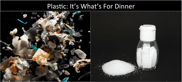 Microplastics for Dinner