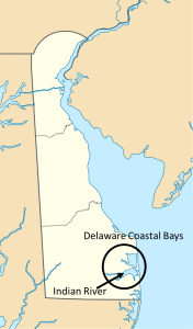 Figure 2: The study area was in the Delaware Coastal Bays.