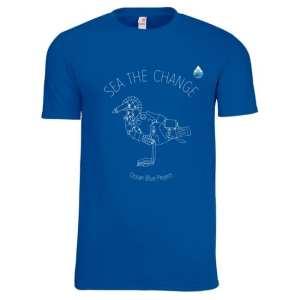 Sea The Change Bird Design T-shirt
