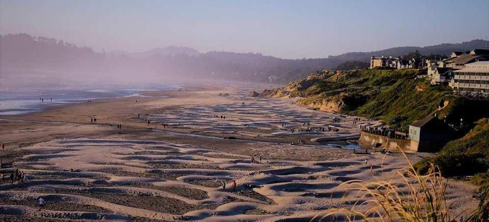 Photo of Nye Beach where we Cleaning Oceans Rivers & Beaches