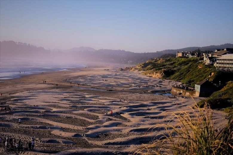 Donate to help protect our oceans, beaches & rivers photo of Nye Beach Oregon