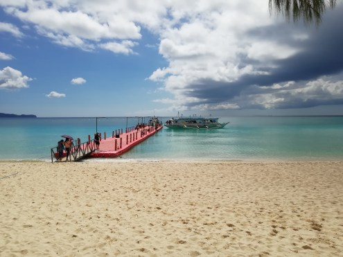 Floating platform - Boracay Island Station 3