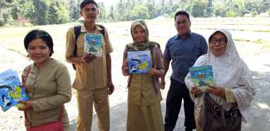 Teaching staff in Lombok