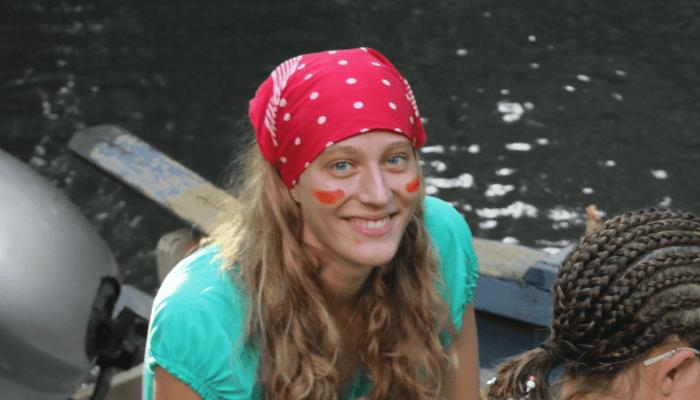 Marlen auf dem Boot