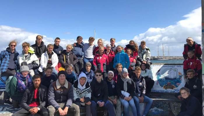 Schülerinnen und Schüler auf den Azoren