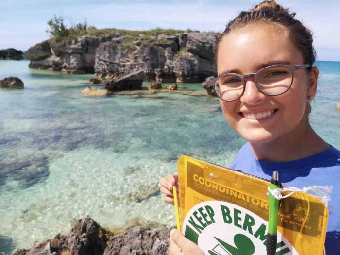 Amelie in Bermuda