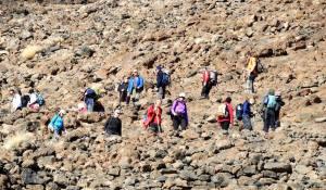 Vulkan besteigen auf Teneriffa