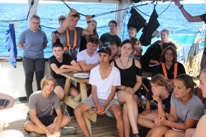 Groupmeeting at Ocean College