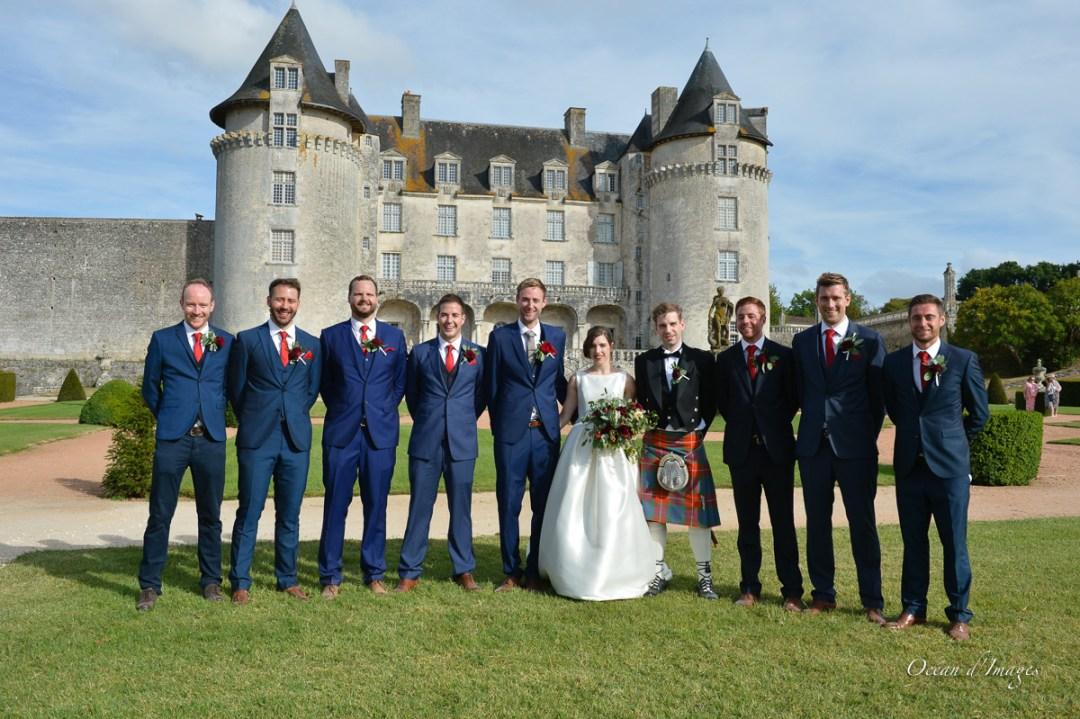 photographe mariage - La Roche Courbon