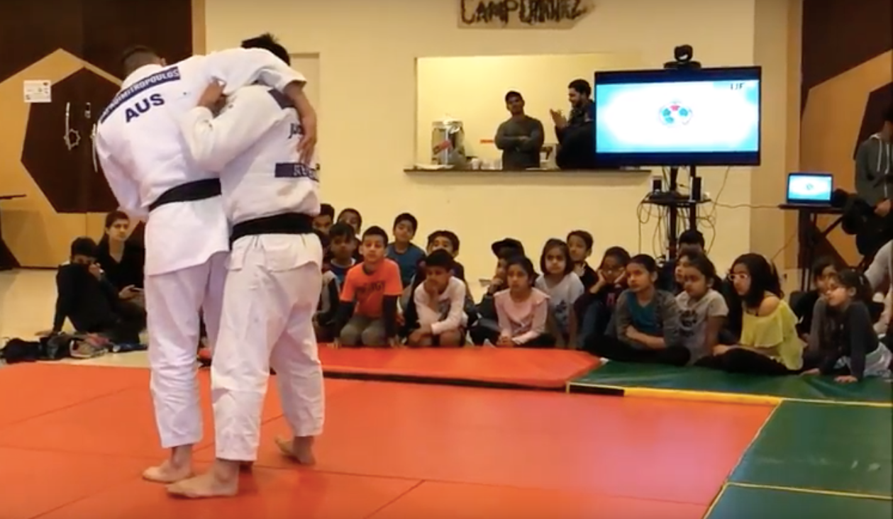 Judo in schools on Melbourne Australia