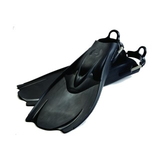 hollis f1 fins black