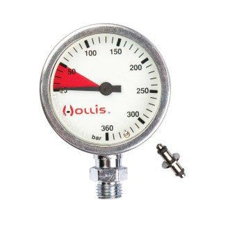 hollis brass pressure gauge spg